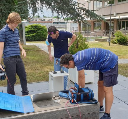 First 5G-TOURS remote television production tests over the 5G network