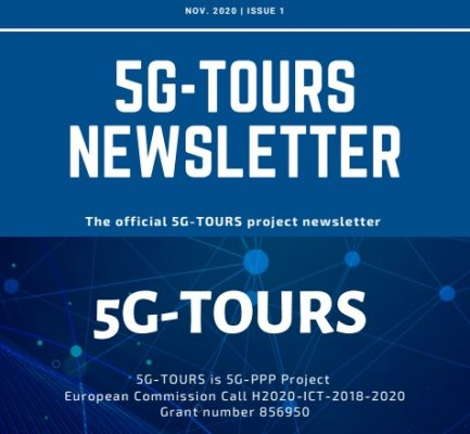 The second edition of the 5G-TOURS newsletter