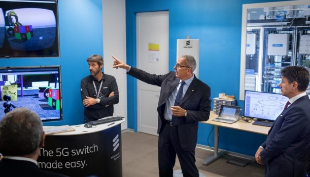 Ericsson Italy and 5G-TOURS